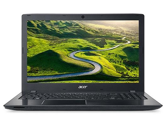 Acer ノートパソコン Aspire E E5-576-F34D/K [オブシディアンブラック] [液晶サイズ:15.6インチ CPU:Core i3 6006U(Skylake)/2GHz/2コア CPUスコア:3091 ストレージ容量:HDD:500GB メモリ容量:4GB OS:Windows 10 Home 64bit] 【】 【人気】 【売れ筋】【価格】