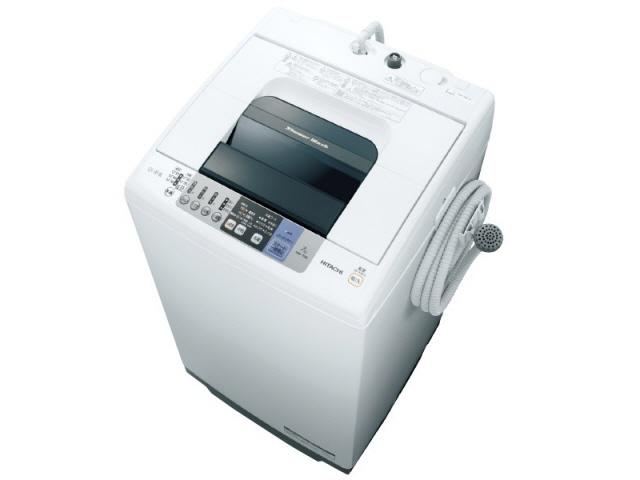 【代引不可】日立 洗濯機 シャワー浸透洗浄 白い約束 NW-70B [洗濯機スタイル:簡易乾燥機能付洗濯機 開閉タイプ:上開き 洗濯容量:7kg] 【】 【人気】 【売れ筋】【価格】【半端ないって】