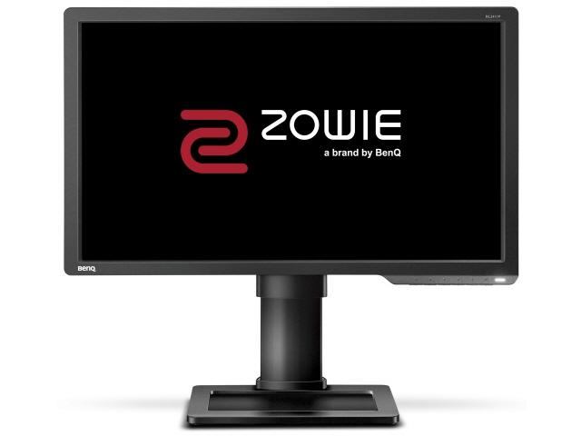 【代引不可】BenQ 液晶モニタ・液晶ディスプレイ ZOWIE XL2411P [24インチ ダークグレイ] [モニタサイズ:24インチ モニタタイプ:ワイド 解像度(規格):フルHD(1920x1080) 入力端子:DVIx1/HDMI1.4x1/DisplayPortx1]