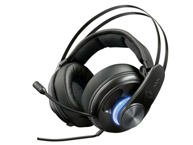 Trust International ヘッドセット Trust Gaming GXT 383 Dion 7.1 Bass Vibration Headset 22055 [ヘッドホンタイプ:オーバーヘッド 片耳用/両耳用:両耳用] 【】【人気】【売れ筋】【価格】