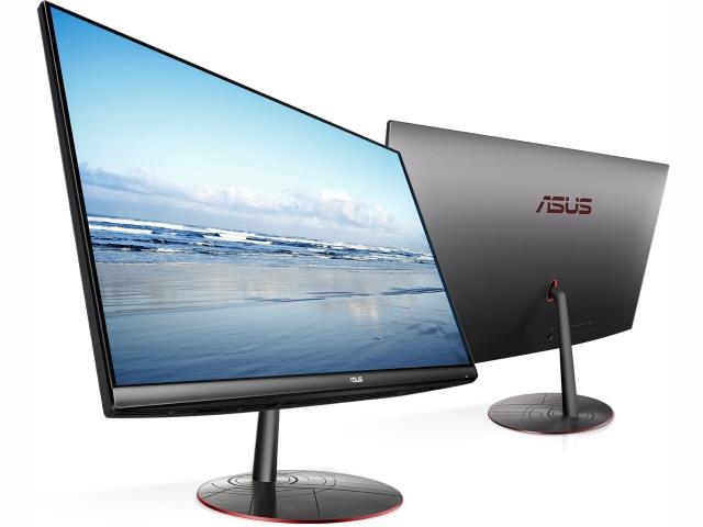 ASUS デスクトップパソコン Zen AiO ZN242IFGK ZN242IFGK-I51050 [画面サイズ:23.8インチ CPU種類:Core i5 7300HQ(Kaby Lake) メモリ容量:8GB ストレージ容量:HDD:1TB/SSD:128GB OS:Windows 10 Home 64bit]
