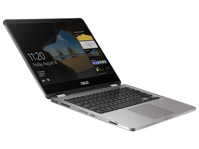 ASUS ノートパソコン ASUS VivoBook Flip 14 TP401NA TP401NA-3350 [液晶サイズ:14インチ CPU:Celeron Dual-Core N3350(Apollo Lake)/1.1GHz/2コア CPUスコア:1113 ストレージ容量:eMMC:64GB メモリ容量:4GB OS:Windows 10 Home 64bit]