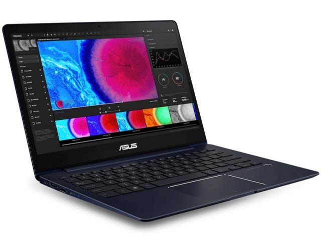 ASUS ノートパソコン ZenBook 13 UX331UN UX331UN-8250B [ロイヤルブルー] [液晶サイズ:13.3インチ CPU:Core i5 8250U(Kaby Lake Refresh)/1.6GHz/4コア CPUスコア:7676 ストレージ容量:SSD:256GB メモリ容量:8GB OS:Windows 10 Home 64bit]