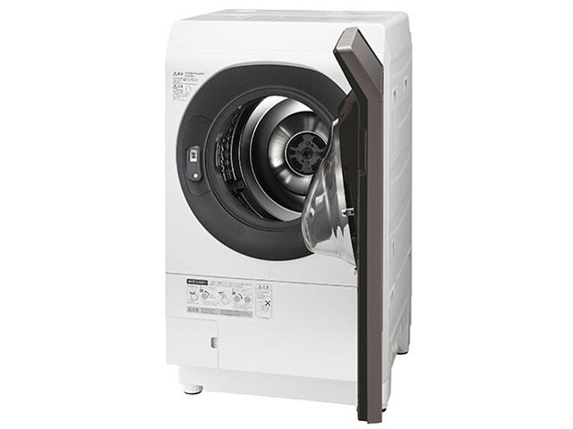【代引不可】シャープ 洗濯機 ES-G110-TR [洗濯機スタイル:洗濯乾燥機 ドラムのタイプ:斜型 開閉タイプ:右開き 洗濯容量:11kg 乾燥容量:6kg] 【】 【人気】 【売れ筋】【価格】