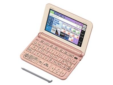 カシオ 電子辞書 エクスワード XD-Z4900PK [ピンク] [主な用途:海外旅行/英語学習(一般)/英語学習(TOEIC)/英語学習(小学・中学・高校) 本体機能:タッチパネル/音声]