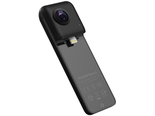 【キャッシュレス 5% 還元】 【ポイント5倍】Insta360 ビデオカメラ Insta360 Nano S [画質:4K 撮影時間:60分 本体重量:66g] 【】 【人気】 【売れ筋】【価格】