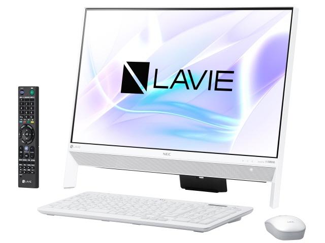 NEC デスクトップパソコン LAVIE Desk All-in-one DA370/KAW PC-DA370KAW [ファインホワイト] [画面サイズ:23.8インチ CPU種類:Celeron Dual-Core 3865U(Kaby Lake) メモリ容量:4GB ストレージ容量:HDD:1TB OS:Windows 10 Home 64bit]