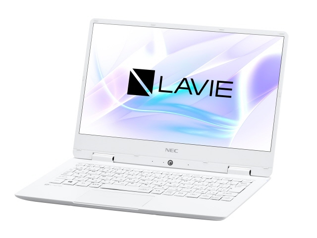 NEC ノートパソコン LAVIE Note Mobile NM350/KAW PC-NM350KAW [パールホワイト] [液晶サイズ:12.5インチ CPU:Core m3 7Y30(Kaby Lake)/1GHz/2コア CPUスコア:3535 ストレージ容量:SSD:128GB メモリ容量:4GB OS:Windows 10 Home 64bit]