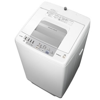 【代引不可】日立 洗濯機 シャワー浸透洗浄 白い約束 NW-R704 [洗濯機スタイル:簡易乾燥機能付洗濯機 開閉タイプ:上開き 洗濯容量:7kg] 【】 【人気】 【売れ筋】【価格】【半端ないって】