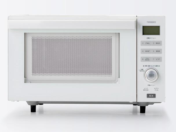 【キャッシュレス 5% 還元】 ツインバード 電子オーブンレンジ DR-E852W [タイプ:オーブンレンジ 庫内容量:18L 最大レンジ出力:600W] 【】 【人気】 【売れ筋】【価格】