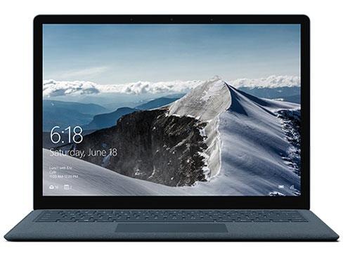 マイクロソフト ノートパソコン Surface Laptop DAG-00109 [コバルトブルー] [液晶サイズ:13.5インチ CPU:Core i5 7200U(Kaby Lake)/2.5GHz/2コア CPUスコア:4625 ストレージ容量:SSD:256GB メモリ容量:8GB OS:Windows 10 S]
