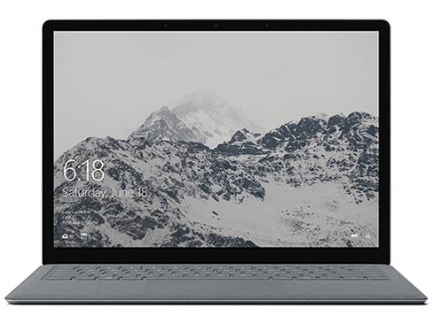 マイクロソフト ノートパソコン Surface Laptop D9P-00045 [液晶サイズ:13.5インチ CPU:Core i5 7200U(Kaby Lake)/2.5GHz/2コア CPUスコア:4625 ストレージ容量:SSD:128GB メモリ容量:4GB OS:Windows 10 S] 【】 【人気】 【売れ筋】【価格】【半端ないって】