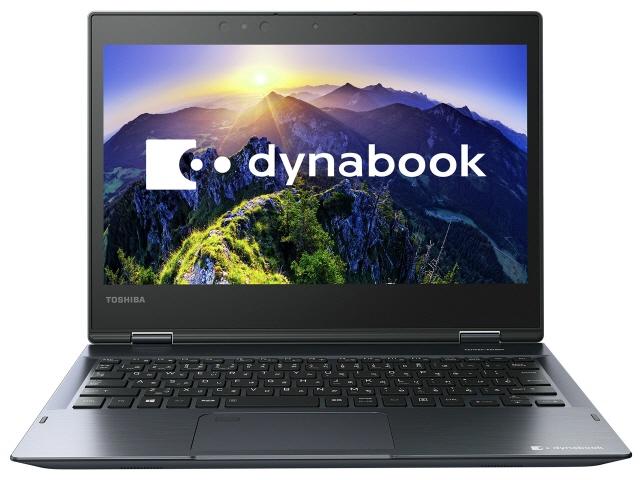 東芝 ノートパソコン dynabook V82 V82/FL PV82FLP-NEA [オニキスブルー] [液晶サイズ:12.5インチ CPU:Core i7 8550U(Kaby Lake Refresh)/1.8GHz/4コア CPUスコア:8325 ストレージ容量:SSD:512GB メモリ容量:8GB OS:Windows 10 Home 64bit]