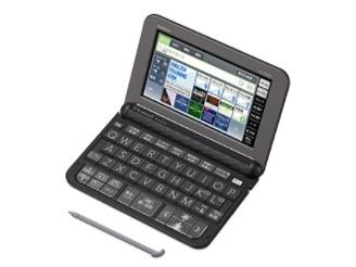 カシオ 電子辞書 エクスワード XD-Z9800BK [ブラック] [主な用途:海外旅行/英語学習(一般)/英語学習(TOEIC)/英語学習(小学・中学・高校)/ビジネス 本体機能:タッチパネル/音声]