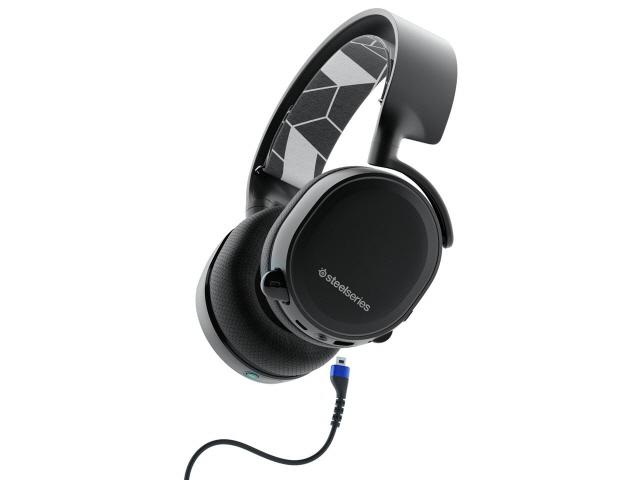 steelseries ヘッドセット SteelSeries Arctis 3 Bluetooth [ヘッドホンタイプ:オーバーヘッド プラグ形状:ミニプラグ 片耳用/両耳用:両耳用 ケーブル長さ:3m] 【】【人気】【売れ筋】【価格】