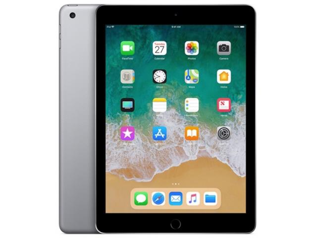 APPLE タブレットPC(端末)・PDA iPad 9.7インチ Wi-Fiモデル 128GB MR7J2J/A [スペースグレイ] [OS種類:iOS 11 画面サイズ:9.7インチ CPU:Apple A10 記憶容量:128GB] 【エントリーでポイント10倍以上!SS期間中】