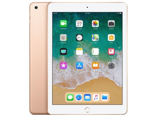 APPLE タブレットPC(端末)・PDA iPad 9.7インチ Wi-Fiモデル 128GB MRJP2J/A [ゴールド] [OS種類:iOS 11 画面サイズ:9.7インチ CPU:Apple A10 記憶容量:128GB] 【】【人気】【売れ筋】【価格】