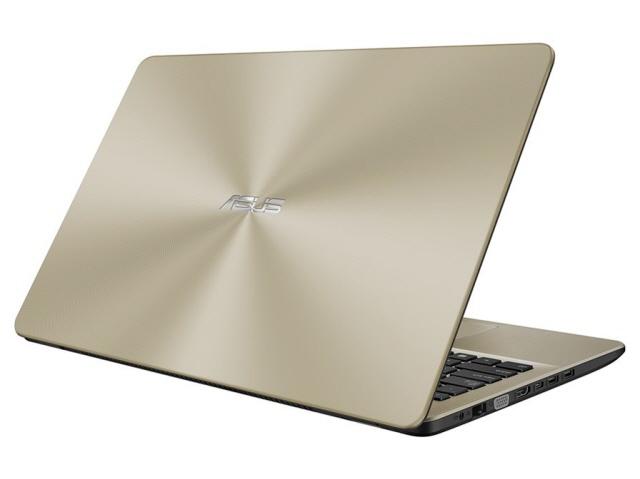 ASUS ノートパソコン ASUS VivoBook 15 X542UN X542UN-8250GO [アイシクルゴールド] [液晶サイズ:15.6インチ CPU:Core i5 8250U(Kaby Lake Refresh)/1.6GHz/4コア CPUスコア:7668 ストレージ容量:HDD:1TB/SSD:128GB メモリ容量:8GB OS:Windows 10 Home 64bit]