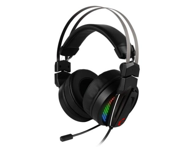 MSI ヘッドセット IMMERSE GH70 [ヘッドホンタイプ:オーバーヘッド プラグ形状:USB 片耳用/両耳用:両耳用 ケーブル長さ:2m] 【】【人気】【売れ筋】【価格】