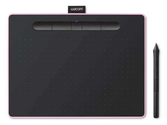 【ポイント5倍】ワコム ペンタブレット Intuos Mediumワイヤレス CTL-6100WL/P0 [ベリーピンク] [入力範囲(幅x奥行):216x135mm 筆圧レベル:4096レベル インターフェース:USB 幅x高さx奥行:264x8.8x200mm]  【人気】 【売れ筋】【価格】
