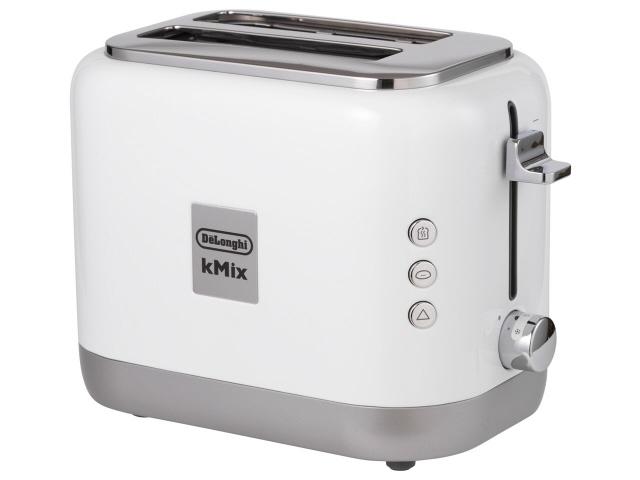 【キャッシュレス 5% 還元】 デロンギ トースター ケーミックス TCX752J-WH [クールホワイト] [タイプ:ポップアップ 同時トースト数:2枚 消費電力:900W] 【】 【人気】 【売れ筋】【価格】