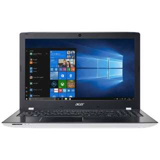 Acer ノートパソコン Aspire E E5-576-F54D/WF [液晶サイズ:15.6インチ CPU:Core i5 7200U(Kaby Lake)/2.5GHz/2コア CPUスコア:4625 ストレージ容量:HDD:500GB メモリ容量:4GB OS:Windows 10 Home 64bit]