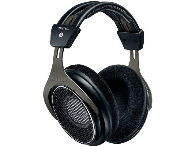 再生周波数帯域:10Hz~30kHz] イヤホン・ヘッドホン [タイプ:オーバーヘッド 【】 駆動方式:ダイナミック型 SRH1840 【売れ筋】【価格】【半端ないって】 【人気】 構造:オープンエア SHURE 装着方式:両耳