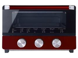 ドウシシャ トースター Pieria OTS-131-RD [タイプ:オーブン 同時トースト数:4枚 消費電力:1300W] 【】【人気】【売れ筋】【価格】