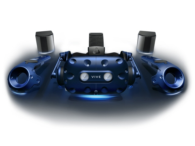 【キャッシュレス 5% 還元】 HTC VRゴーグル・VRヘッドセット VIVE Pro 99HANW009-00 [タイプ:VRヘッドセット 対応機器:Windows8.1、Windows10以降のパソコン ディスプレイタイプ:有機EL ディスプレイ解像度:片目あたり:1440x1600/合計:2880x1600]