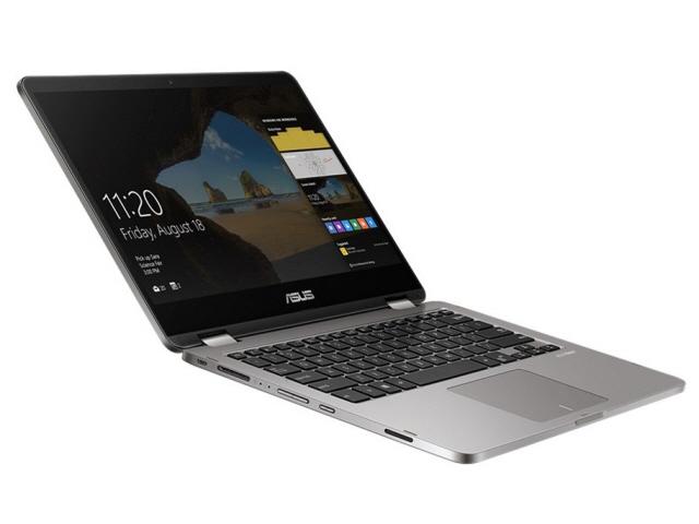 ASUS ノートパソコン ASUS VivoBook Flip 14 TP401NA TP401NA-128GS [液晶サイズ:14インチ CPU:Celeron Dual-Core N3350(Apollo Lake)/1.1GHz/2コア CPUスコア:1107 ストレージ容量:SSD:128GB メモリ容量:4GB OS:Windows 10 Home 64bit]