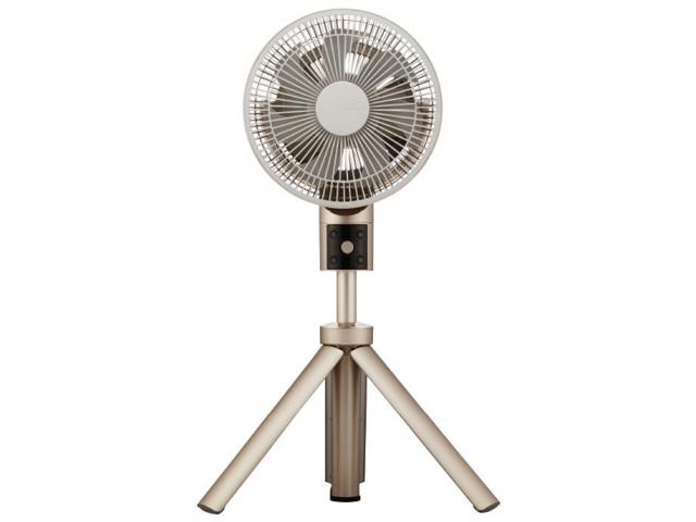 ドウシシャ 扇風機 kamomefan TLKF-1201D-CGD [シャンパンゴールド] [タイプ:扇風機 スタイル:据置き 羽根径:20cm DCモーター:○] 【】【人気】【売れ筋】【価格】