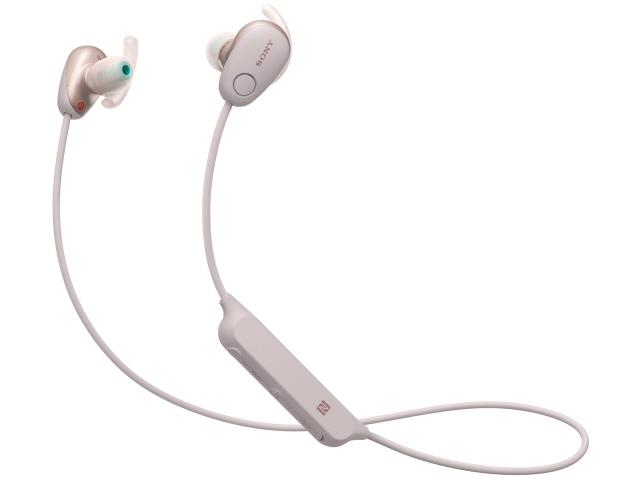 【キャッシュレス 5% 還元】 SONY イヤホン・ヘッドホン WI-SP600N (P) [ピンク] [タイプ:カナル型 装着方式:両耳 構造:密閉型(クローズド) 駆動方式:ダイナミック型] 【】 【人気】 【売れ筋】【価格】
