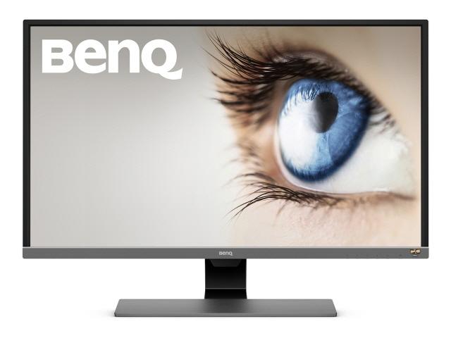 【代引不可】BenQ 液晶モニタ・液晶ディスプレイ EW3270U [31.5インチ メタリックグレー] [モニタサイズ:31.5インチ モニタタイプ:ワイド 解像度(規格):4K(3840x2160) 入力端子:HDMI2.0x2/USB Type-Cx1/DisplayPortx1]