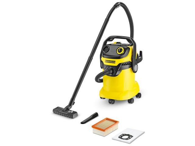 ケルヒャー 掃除機 WD 5 [タイプ:キャニスター 吸込仕事率:190W]  【人気】 【売れ筋】【価格】