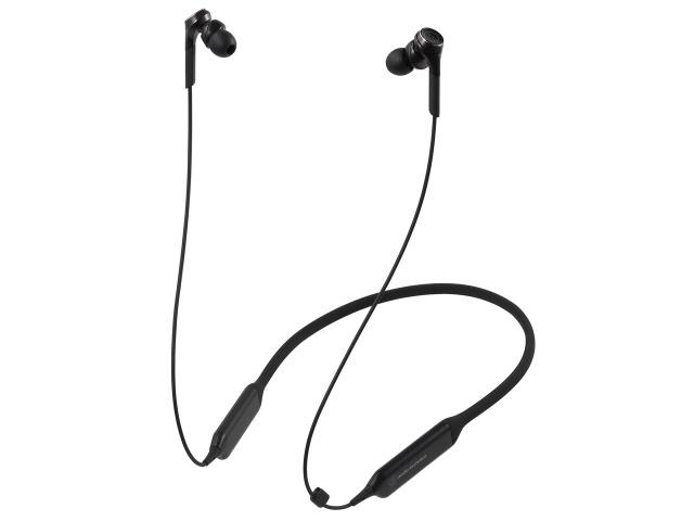 【キャッシュレス 5% 還元】 オーディオテクニカ イヤホン・ヘッドホン SOLID BASS ATH-CKS770XBT BK [ブラック] [タイプ:ネックバンド 装着方式:両耳 駆動方式:ダイナミック型 再生周波数帯域:5Hz~42kHz] 【】 【人気】 【売れ筋】【価格】