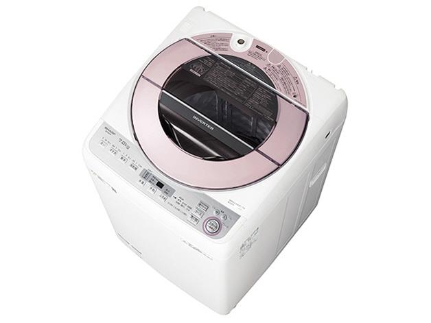 【代引不可】シャープ 洗濯機 ES-GV7C [洗濯機スタイル:簡易乾燥機能付洗濯機 開閉タイプ:上開き 洗濯容量:7kg] 【】【人気】【売れ筋】【価格】