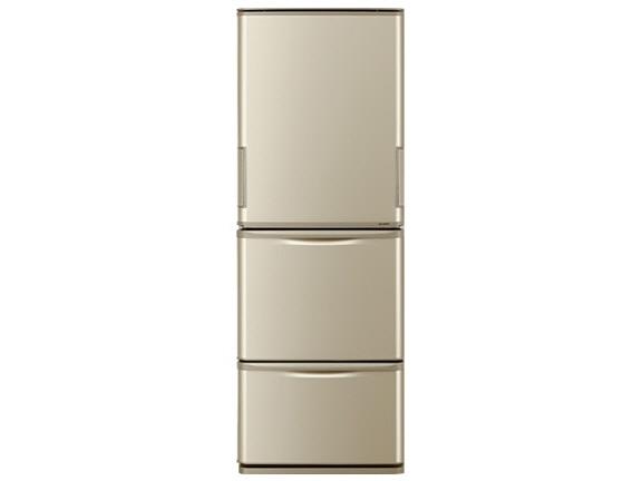 【代引不可】シャープ 冷凍冷蔵庫 SJ-W352D [省エネ評価:★★★ ドアの開き方:左右開き タイプ:冷凍冷蔵庫 ドア数:3ドア 定格内容積:350L] 【】 【人気】 【売れ筋】【価格】