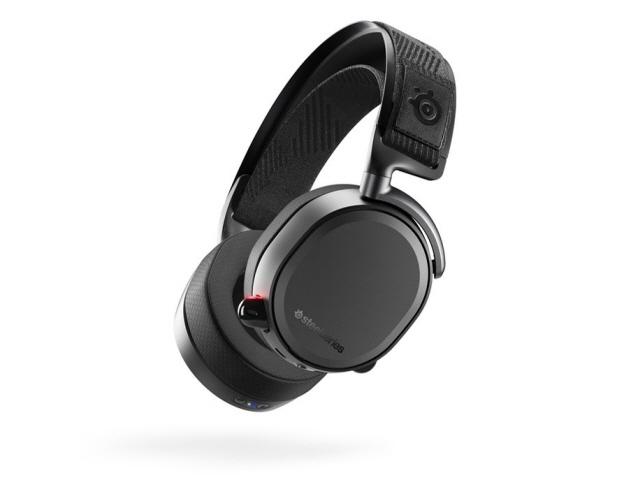steelseries ヘッドセット Arctis Pro Wireless [ブラック] [ヘッドホンタイプ:オーバーヘッド プラグ形状:USB/ミニプラグ 片耳用/両耳用:両耳用] 【】 【人気】 【売れ筋】【価格】