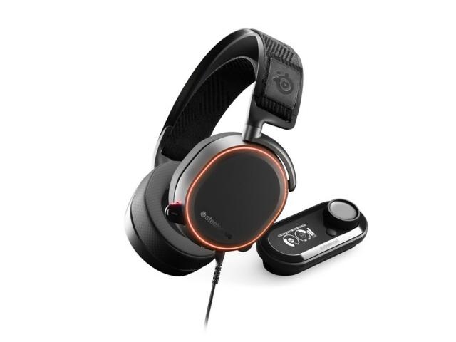 【キャッシュレス 5% 還元】 steelseries ヘッドセット Arctis Pro + GameDAC [ブラック] [ヘッドホンタイプ:オーバーヘッド プラグ形状:USB/ミニプラグ 装着タイプ:両耳用] 【】 【人気】 【売れ筋】【価格】