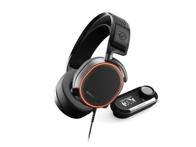 steelseries ヘッドセット Arctis Pro + GameDAC [ブラック] [ヘッドホンタイプ:オーバーヘッド プラグ形状:USB/ミニプラグ 片耳用/両耳用:両耳用] 【】【人気】【売れ筋】【価格】