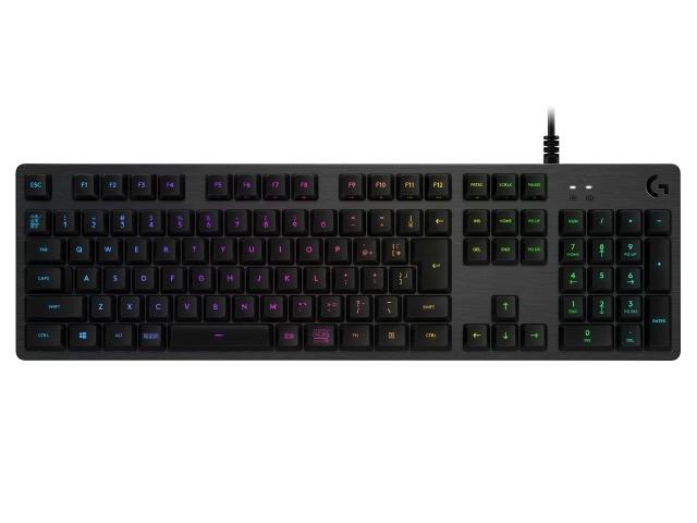 【キャッシュレス 5% 還元】 ロジクール キーボード G512 Carbon RGB Mechanical Gaming Keyboard (Linear) G512-LN [カーボンブラック] [キーレイアウト:日本語108 キースイッチ:メカニカル インターフェイス:USB] 【】 【人気】 【売れ筋】【価格】