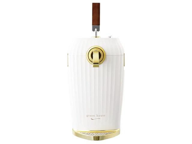 グリーンハウス 調理家電 GH-BEERL-WH [ホワイト] [調理家電種類:カクテルビールサーバー 幅x高さx奥行:203x460x218mm] 【】 【人気】 【売れ筋】【価格】