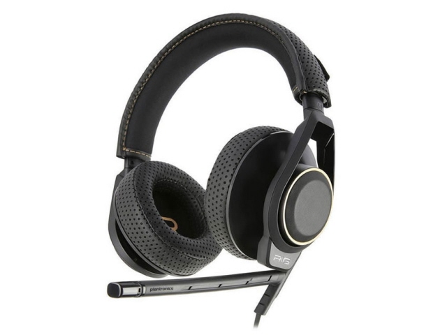 Plantronics ヘッドセット RIG 600 [ヘッドホンタイプ:オーバーヘッド プラグ形状:ミニプラグ 片耳用/両耳用:両耳用 ケーブル長さ:1.3m] 【】【人気】【売れ筋】【価格】