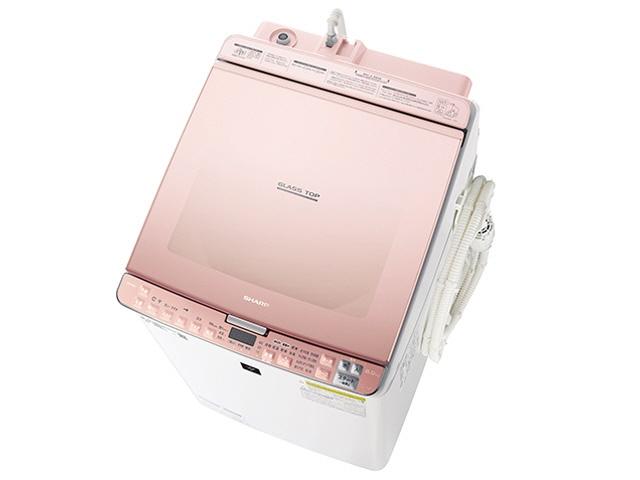 【代引不可】シャープ 洗濯機 ES-PX8C-P [ピンク系] [洗濯機スタイル:洗濯乾燥機 開閉タイプ:上開き 洗濯容量:8kg 乾燥容量:4.5kg] 【】 【人気】 【売れ筋】【価格】