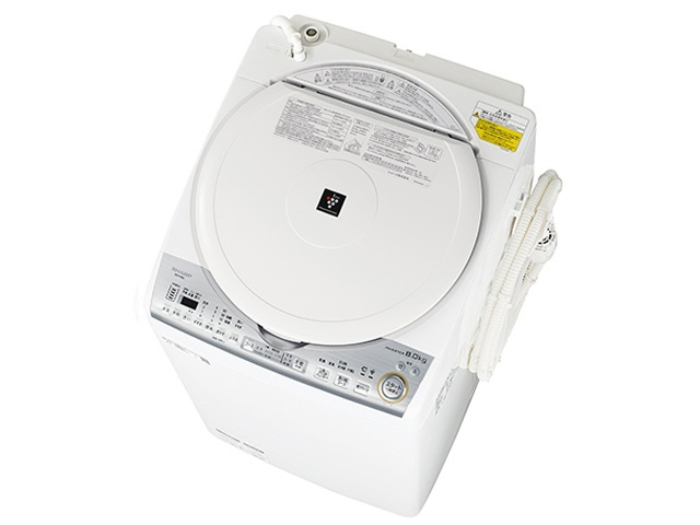 【代引不可】シャープ 洗濯機 ES-TX8C [洗濯機スタイル:洗濯乾燥機 開閉タイプ:上開き 洗濯容量:8kg 乾燥容量:4.5kg] 【】 【人気】 【売れ筋】【価格】