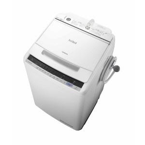 【代引不可】日立 洗濯機 ビートウォッシュ BW-V80C(W) [ホワイト] [洗濯機スタイル:簡易乾燥機能付洗濯機 開閉タイプ:上開き 洗濯容量:8kg] 【】【人気】【売れ筋】【価格】