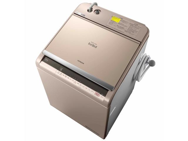 【代引不可】日立 洗濯機 ビートウォッシュ BW-DV120C(N) [シャンパン] [洗濯機スタイル:洗濯乾燥機 開閉タイプ:上開き 洗濯容量:12kg 乾燥容量:6kg] 【】 【人気】 【売れ筋】【価格】