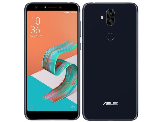 ASUS スマートフォン ZenFone 5Q SIMフリー [ミッドナイトブラック] [キャリア:SIMフリー OS種類:Android 7.1 販売時期:2018年春モデル 画面サイズ:6インチ 内蔵メモリ:ROM 64GB RAM 4GB バッテリー容量:3300mAh]