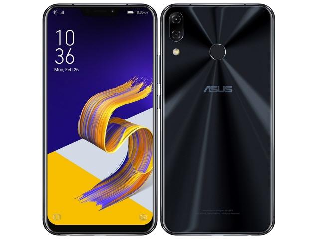 ASUS スマートフォン ZenFone 5Z SIMフリー [シャイニーブラック] [キャリア:SIMフリー OS種類:Android 8.0 販売時期:2018年夏モデル 画面サイズ:6.2インチ 内蔵メモリ:ROM 128GB RAM 6GB バッテリー容量:3300mAh] 【】【人気】【売れ筋】【価格】