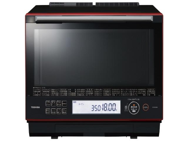 【キャッシュレス 5% 還元】 東芝 電子オーブンレンジ 石窯ドーム ER-SD5000(R) [グランレッド] [タイプ:オーブンレンジ 庫内容量:30L 最大レンジ出力:1000W] 【】 【人気】 【売れ筋】【価格】